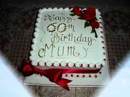 Beautiful Happy 60th Birthday Cake Ich Liebe Dich Mother Youtube