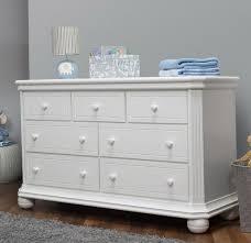 Parocela 7 Drawer Dresser White Parocela Drawer Dresser D85
