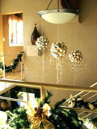 hanging ornaments from chandelier tree made ceiling decorations for classroom cha