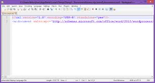 i prefer using notepad and xml tool plugin it can be installed through plungins of notepad