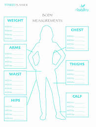 Printable Weight Loss Measurement Chart Best Of Weight Loss