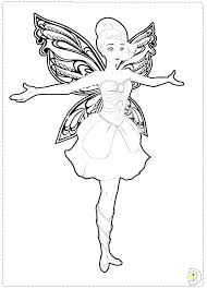 Barbie Colouring In Pictures Princess Barbie Coloring Pages Barbie