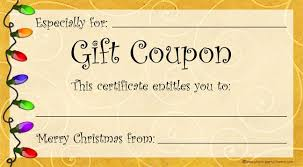 Make Your Own Gift Certificate Free Printable Pin By Nancy Ruhl On Gift Ideas Free Printable Gift