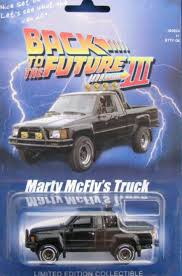 BTTF Hot Wheels Marty's Toyota pick up truck | Back to the Future ...