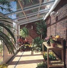 Sun and Stars: Straight Eave Glass Sunroom traditional-porch