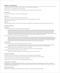 20+ Simple Teacher Resume Templates - Pdf, Doc | Free & Premium ...