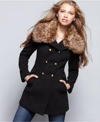 american rag military faux fur coat 119