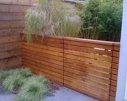 Horizontal Fence Styles Horizontal Wood Fence Styles Design Ideas