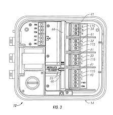 patent us7069115 hybrid modular decoder irrigation controller patent drawing