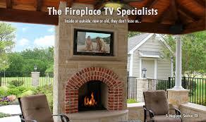 prevnext 12 tv above fireplace