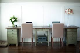 double desks for home office. Cozy Double Desk Home Office Ideas Diy Whimseybox Furniture: Full Size Desks For