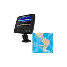 Raymarine Dragonfly 7 Pro Combo Transom Mount Transducer W Navionics Caribbean South America Chart