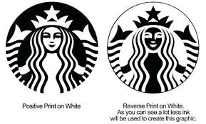 Mini Starbucks Logo Coloring Page