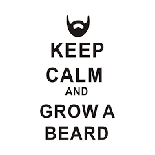 Beard Quotes Custom Keep Calm And Grow A Beard Quotes Wall Decal Vinyl Sticker Art Home