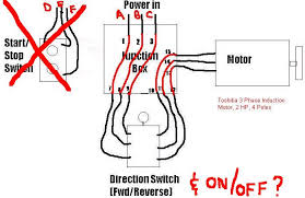 phase wiring question start stop switch the home machinist if it will get me going for now that would be great i will take your advice and go back and add some overload protection
