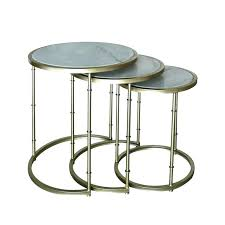 table silver glass coffee e side round gold and marble square black top table