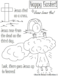 Christian Easter Pictures To Color Easter Coloring Pages Within