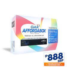 GMA Affordabox Digital TV Receiver