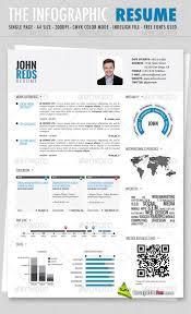 Nice Ideas Infographic Resume Template Infographic Resume Templates