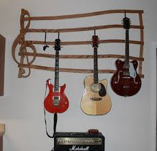 multiple guitar hanger wall mount
