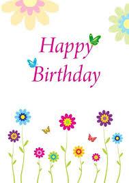 free printable photo birthday cards free printable happy birthday cards free reference images