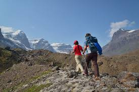 favorite week long hiking trips in alaska best multi day hikes  hiking up to hole in the wall on the goat trail wrangell st elias national park