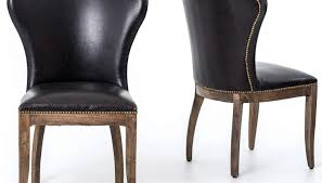 marvelous chair leather wingback with nailhead trim enjoyable image of tufted trend and styles tufted leather