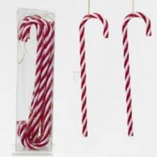 Plastic Candy Cane Decorations Kurt Adler Candy Cane Christmas Ornaments eBay 11