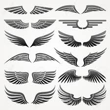 Wing Design Stock Vector Wings Drawing Wings Logo Illustration