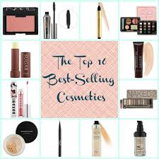 top 16 best selling cosmetics