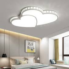 top 10 omicron new modern led chandeliers heart shape for living room bedroom dining room dimming