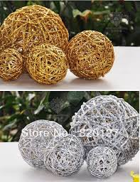 Rattan Decorative Balls