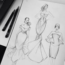 drawings fashion designs essentials for a fashion sketching tool kit threads