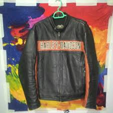 harley davidson victory lane riding leather jacket men s fashion clothes on carou
