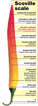 Trinidad Scorpion Scoville Chart Scary Hot Franken Chiles Savory Spice