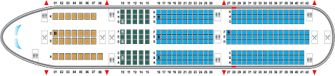 Airbus A350 900 Seating Chart Airbus A350