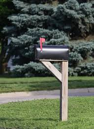 metal mailbox flag. Download Mailbox With Flag Raised Stock Photo. Image Of Mail, Summer - 31780756 Metal L