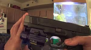 Aim Pistol Light Aim Sports 150 Lumen Tac Light Youtube