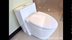 modern bathroom toilet modern  one piece dual flush toilet