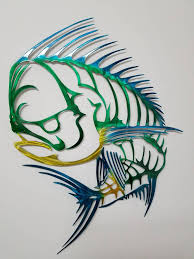 >mahi mahi wall art metal mahi wall art aluminum wall art skeleton  mahi mahi wall art metal mahi wall art aluminum wall art skeleton mahi metal fish wall art outdoor metal sculpture mahi metal art