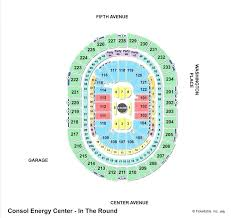 Consol Energy Interactive Seating Chart Consol Energy Center Seating Capacity Energy Etfs