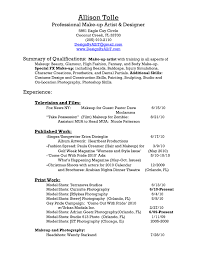 Mac Cosmetics Resume Sample Mac Makeup Artist Resume make up artists resume makeup artist 2