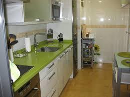 Cocina Verde Y Blanco Sweet Home Pinterest Cocina