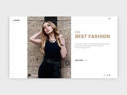 Fashion Banner Fashion Website Banner Search By Muzli