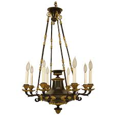 s french empire bronze chandelier for at stdibs