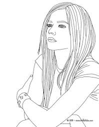 Small Picture Avril lavigne fashion designer coloring pages Hellokidscom