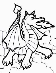 Free Printable Dragon Coloring Pages For Kids For Dragon Images To