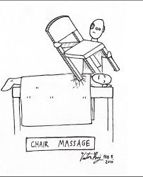 is this your idea of a chair massage if you have never had a real chair massage from a certified massage the i suggest you give it a try next time