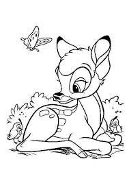 Coloriage Disney Bambi Et Panpan