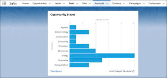 Report With Pictures Embed A Report Chart Unit Salesforce Trailhead